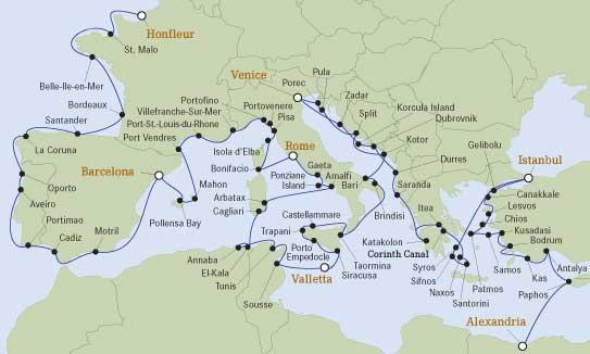map of odysseus journey pdf